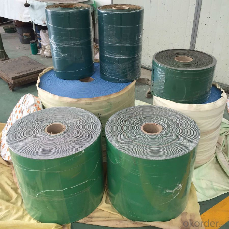 Nylon Core Flat Transmission Belt for Textile Industry