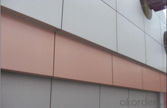 Brushed Aluminium composite panel ACP composite panel