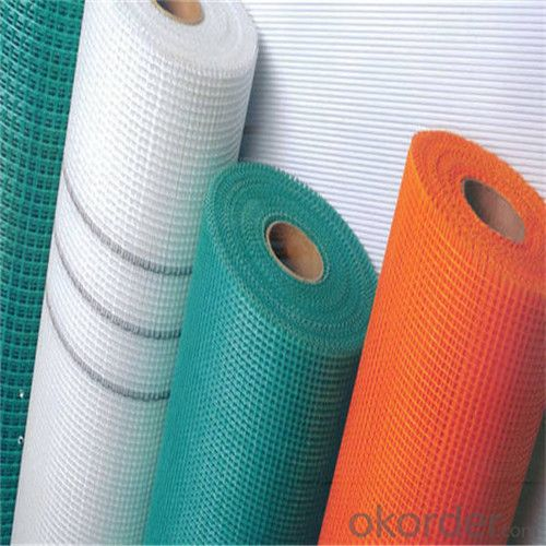 Coated Alkali-Resistant Fiberglass Mesh Cloth 135G/M2 5*5MM High Strength Low Price