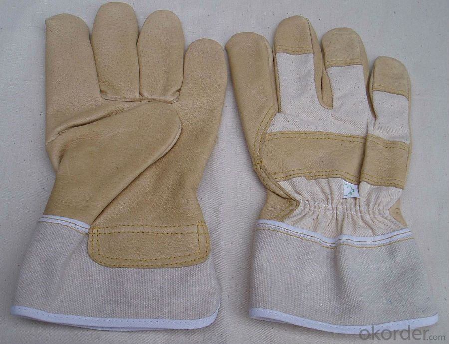 Safety Gloves Leather Top Rated Black Cold Weather Custom