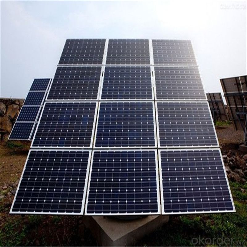 110 Watt Photovoltaic Poly Solar Panels