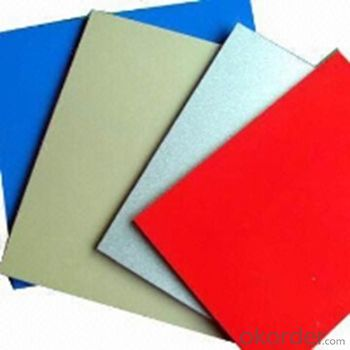 COLOUR COATED ALUMINUM COIL AND SHEET IN GOOD QUALITY