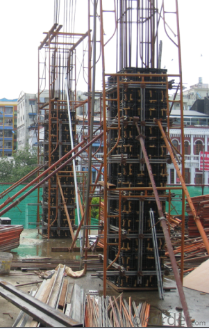Hot Sale Plastic Reusable  Formwork System - Column Formwork