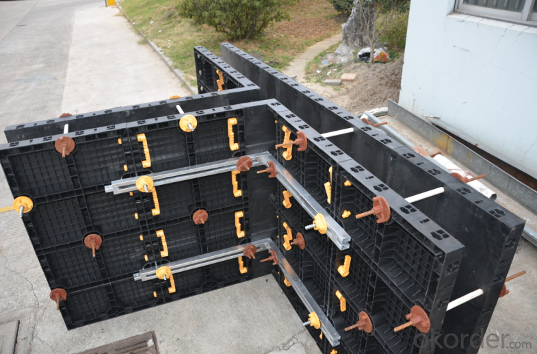 Made in China  Plastic Reusable Formwork