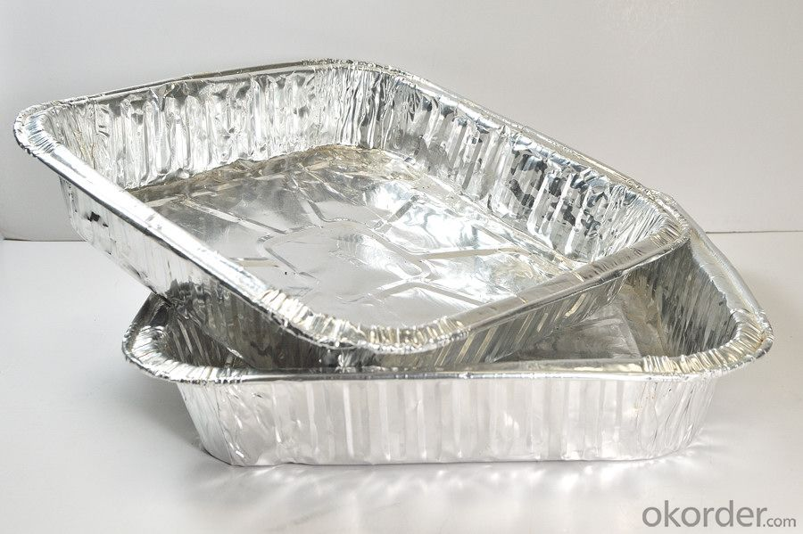 Aluminum foil for food container / food tray for container foil