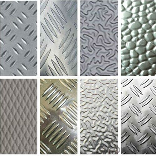 Coated Aluminium Embossed Coils for Decoration and Construction