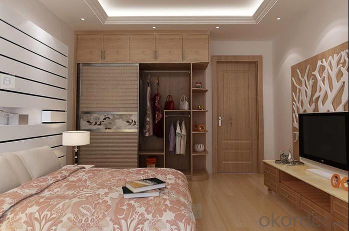 Free Standing Wardrobe Cabinet Closet Sliding Door