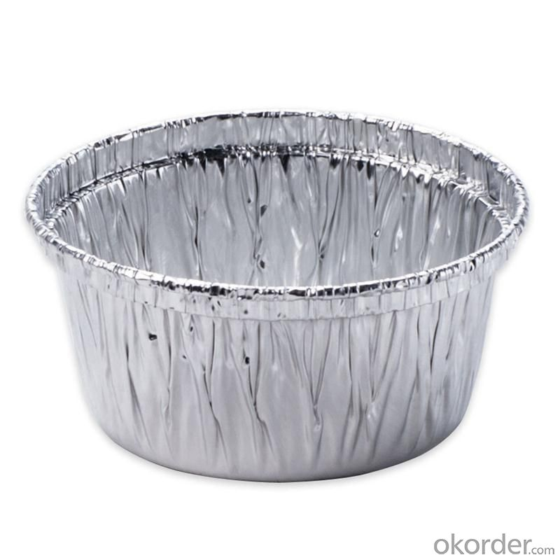 Disposable mini aluminum foil baking colorful cup 340