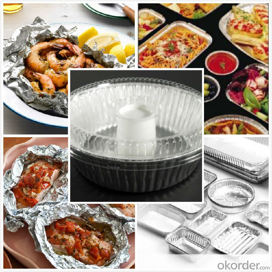 Household food aluminium foil for food packing tin foil paper for food packaging