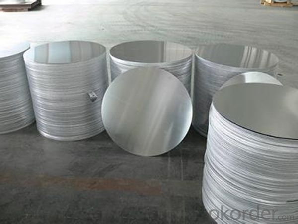 Continuous Casting Aluminium Circle for Light Lamp