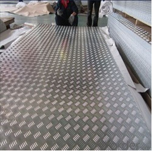 Bright Polish Aluminum Tread Plate with High Quality