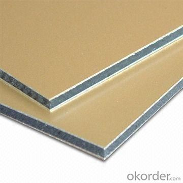 Mill Finished PVDF Coated Aluminium Composite Panel