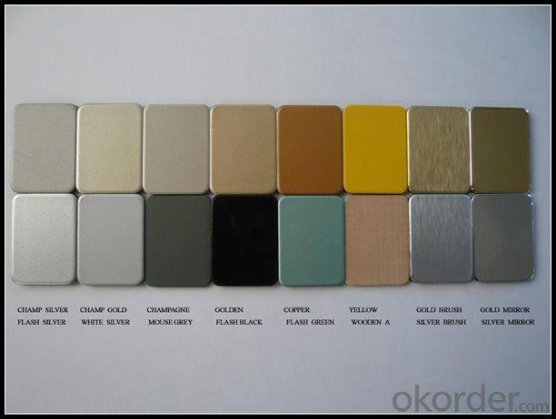 EN AW - 3004 PVDF Aluminium Composite Panel