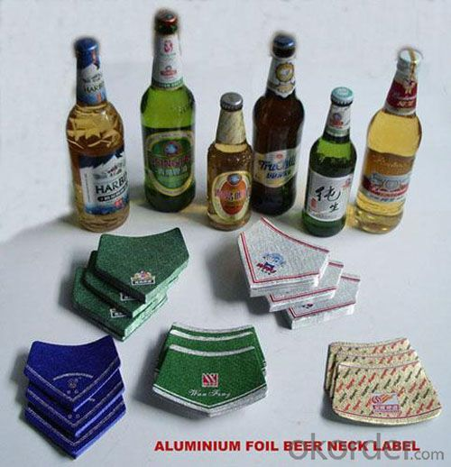 Aluminum Foils for Beer Bottle Neck Label
