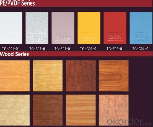 PVDF Coated Aluminum Coil for Aluminum Composite Panel