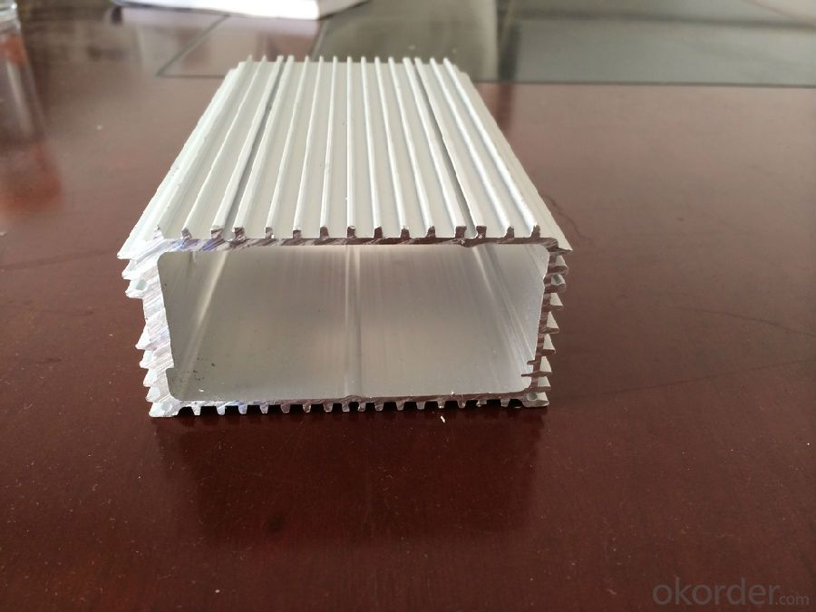 Aluminum Profile Sunflowers For Heat Sink
