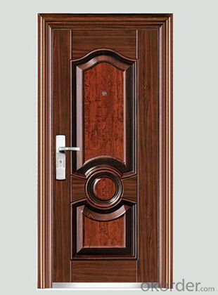 Security Metal door  Door size:2110*960*70mm