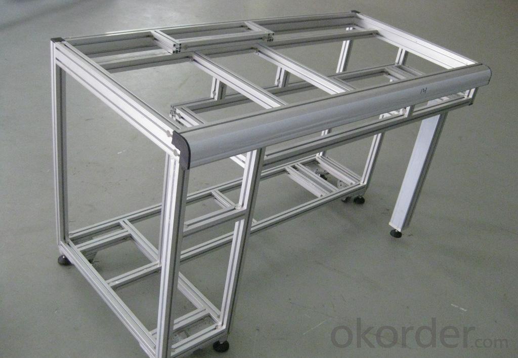 Aluminium S-Profile for Industrial Applications