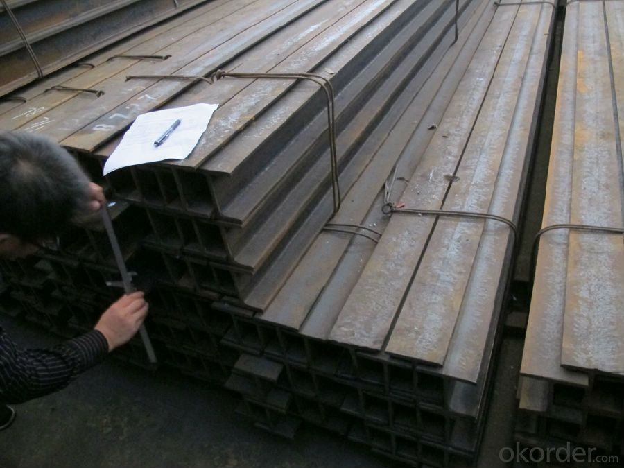 Hot Rolled Steel  H-Beam used for Prefabrication structure