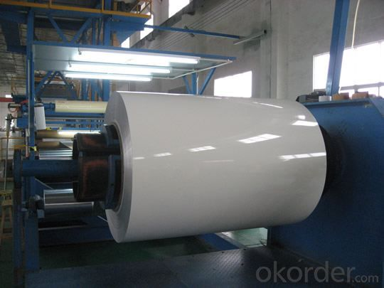 Aluminium Coils with PVDF Coating 22-40 microns