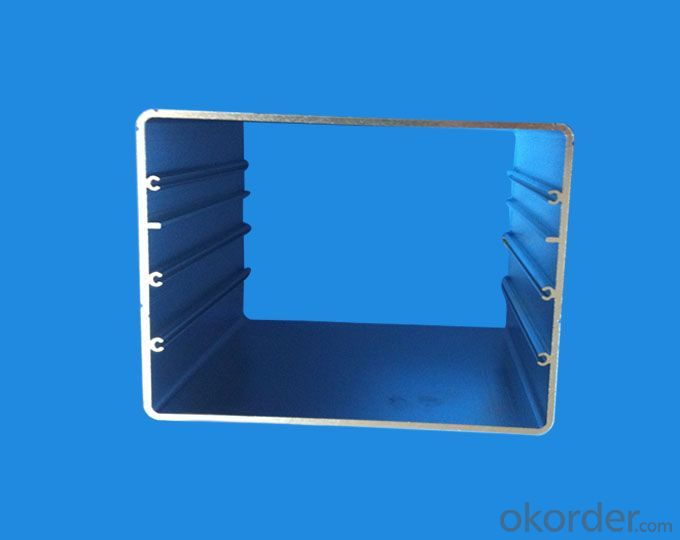 Aluminium Profile with PVDF Coated and Color Coated