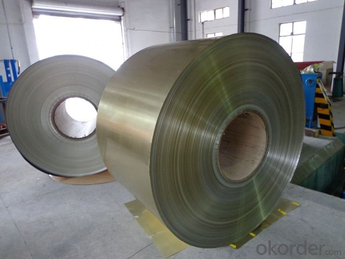 Color Coated Aluminum Coils for Container Packing with Different Alloys