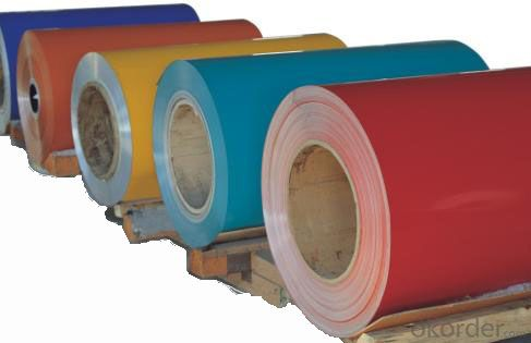 Aluminium Coils with PVDF Coating 22-40 microns