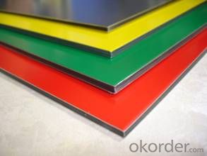 EN AW - 1060 PE Painted Aluminium Composite Panel
