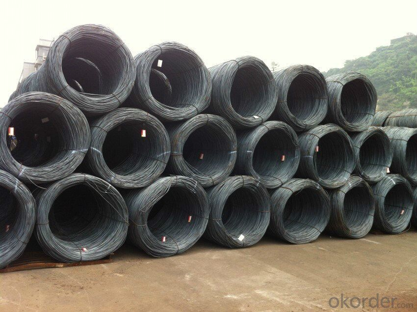 Wholesale 5.5-14mm High Carbon Steel Wire Rod