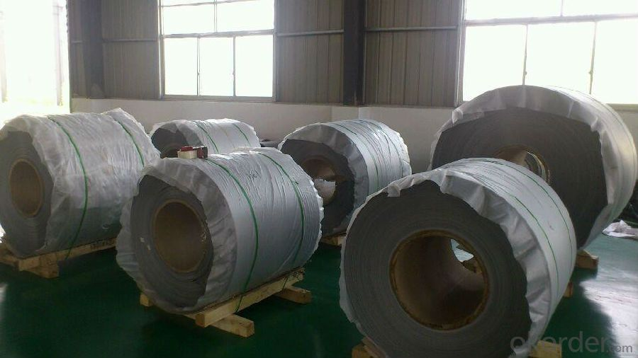 Blue And White Color Coated Aluminum Coil Aluminum Roll Alloy 3006