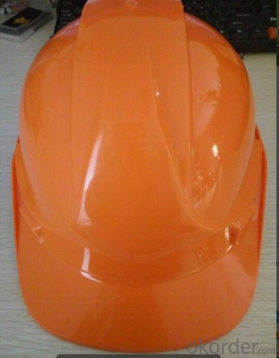 Industrial Yellow  Safety Hard Hat with Rain Gutter and Vent