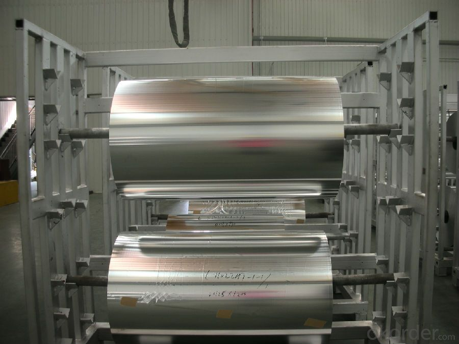 Mill Finished Alloy 8011 Aluminium Foils