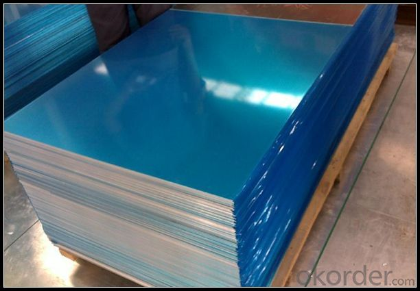 EN AW - 2219 Aluminium Sheet With Transparent PE Film