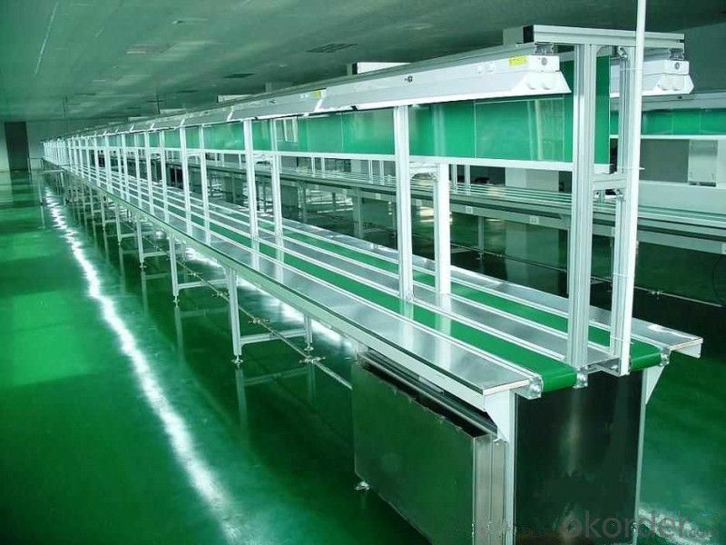 Food Grade PVC Flat Belting Conveyor/Potato Conveyor Belt