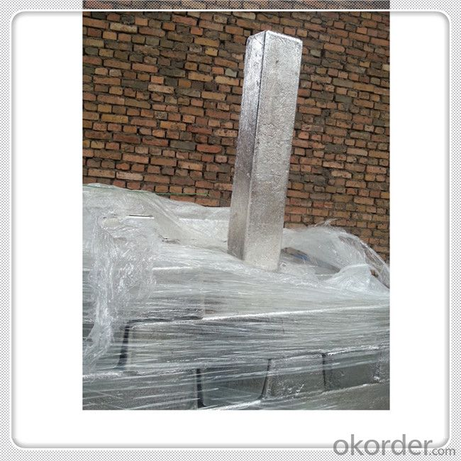 Magnesium Alloy Ingot Mg 99.8 Good Quality Magnesium Metal Ingot