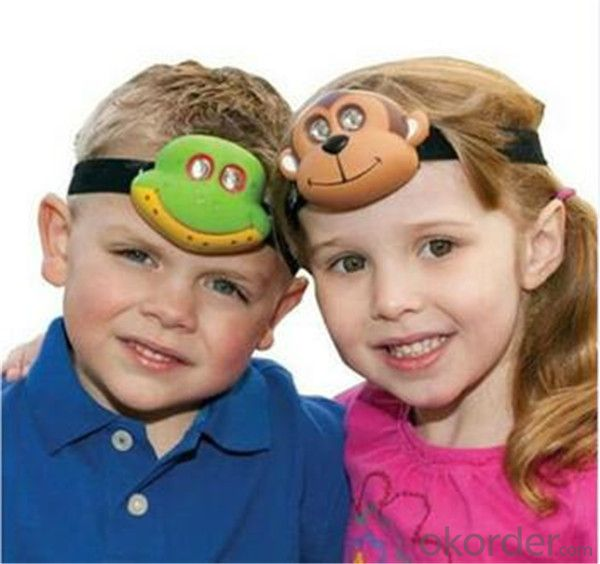 Dinobryte Led Headlamp for Children Outdoor Head Light