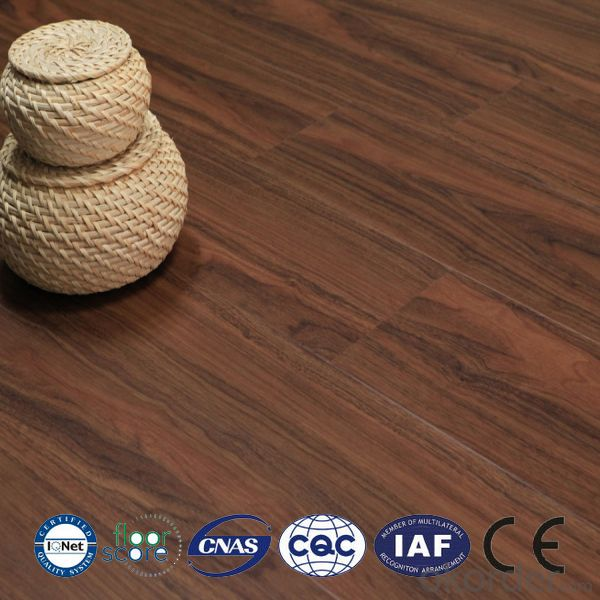 LVT PVC Flooring With Cork Backing For North America