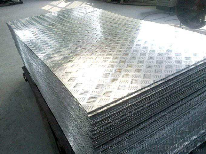 Aluminium Checker Plate/ Tread Plate Used for Stairs