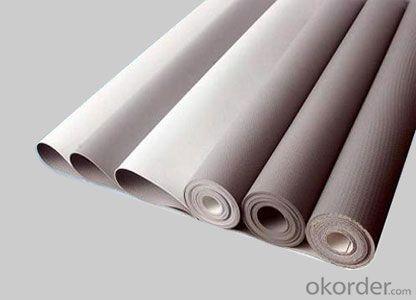 Uniformity of polyvinyl chloride (PVC) waterproofing membrane