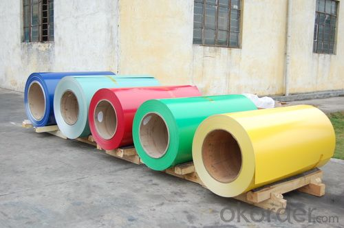 Green Color Coating Aluminum Coil with High Quality