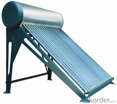 Pressurized Heat Pipe Solar Water Heater System New Designed