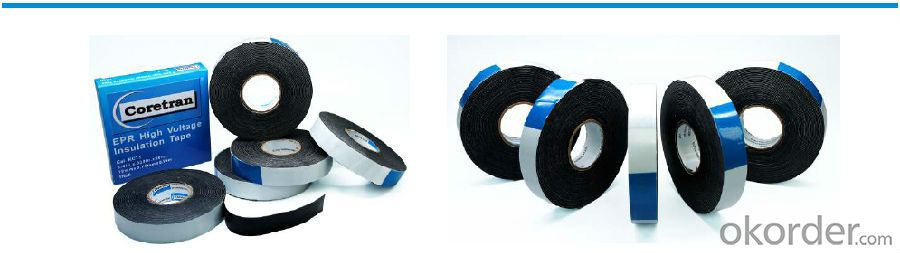 Self-Adhesive Electrical Tape for Insulation with Different Color