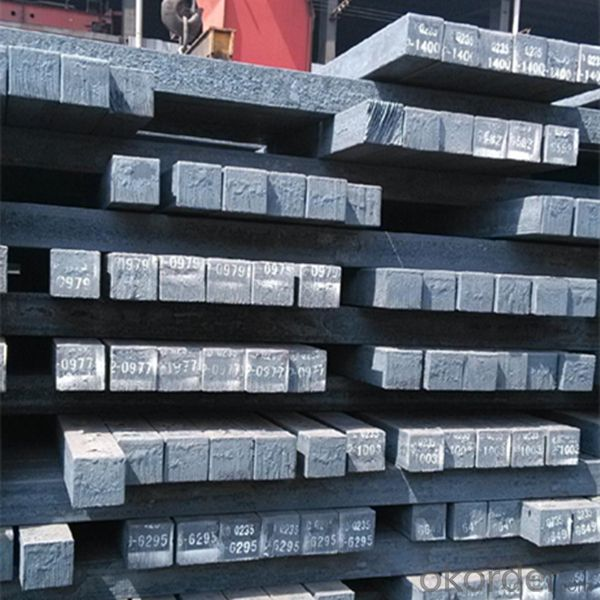 Steel Billets for Rebar Rolling Made in China