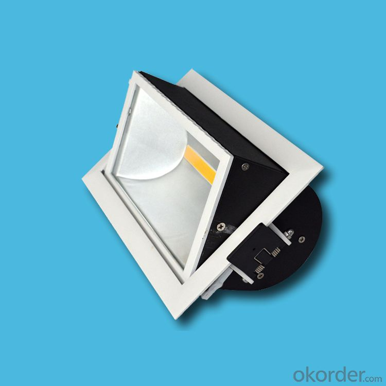 Wall wash led recessed COB downlight 20W 25W 30W 40W