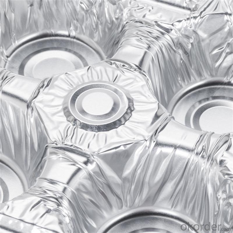 Laminated alu alu foil for medical packaging
