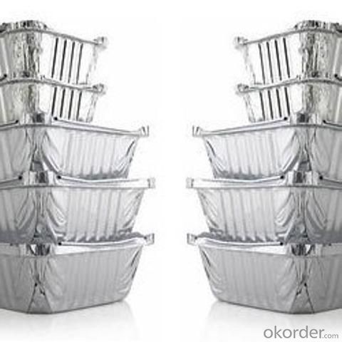Aluminum Foil Takeaway Containers (Food Container Alu)