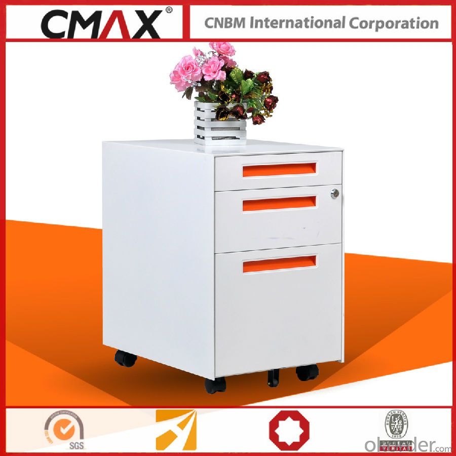 Office Steel Mobile Pedestal Cabinet CMAX-MPD-PBF