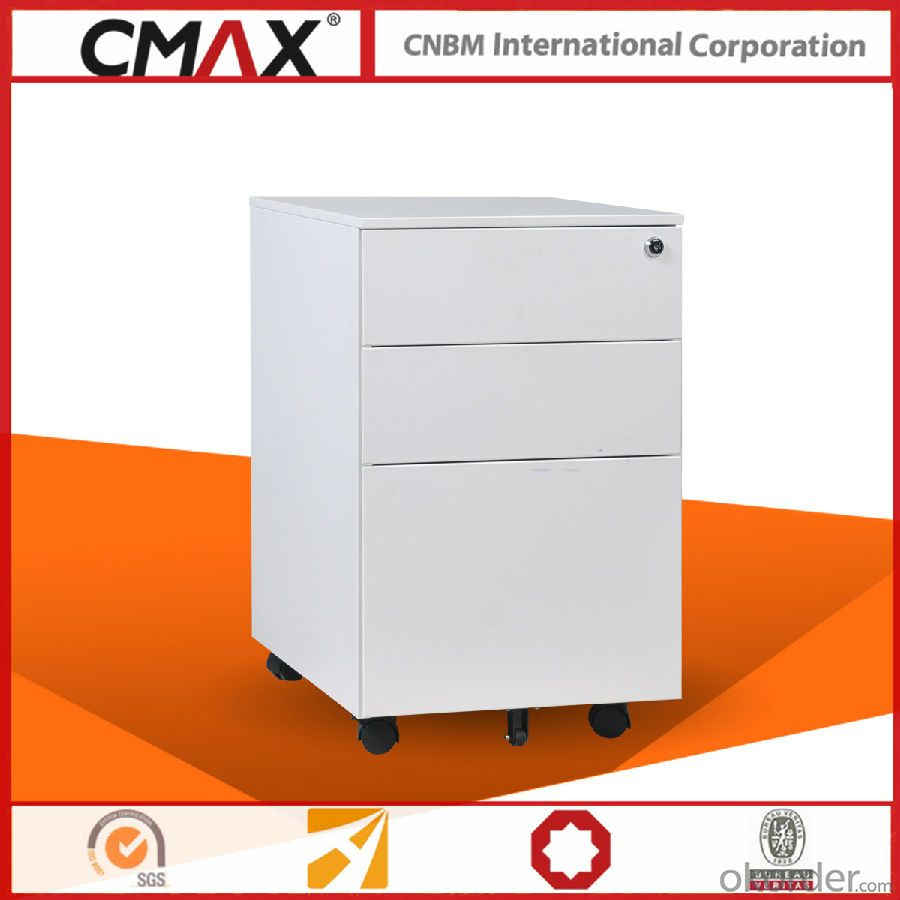 Office Metall Mobile Pedestal Cabinet CMAX-PBF