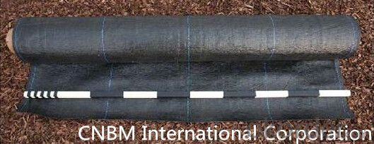 Wooden Silt Fence/ Polypropylene Woven Geotextile with 100gram