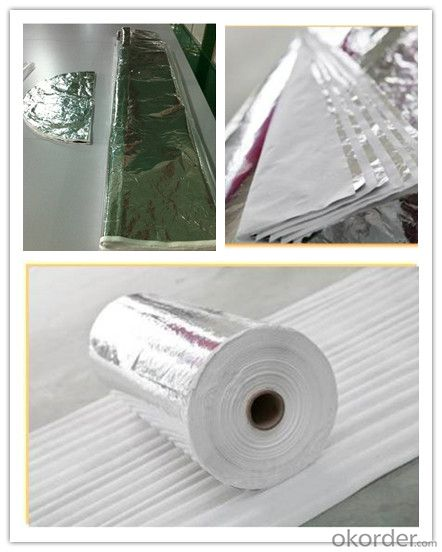 Cryogenic  Fiberglass Insulation Paper with Aluminium